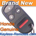 Honda Accord Keyless Entry Remote Transmitter 4 Button New