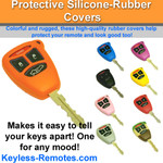Chrysler, Dodge, and Jeep Remote Key Protective Silicone-Rubber Cover