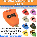Chrysler Dodge Jeep  Keyless Entry Remote Protective Silicone-Rubber Cover