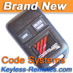 Code Alarm Keyless Entry Remote Power Code Systems GOH-TSM-23 - CODE801_A