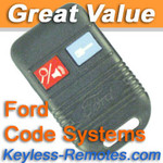 Ford Code Alarm Keyless Entry Remote Power Code Systems GOH-M24 - CODE400_B
