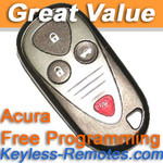 Acura CL TL and RL Keyless Entry Remote Refurbished