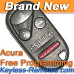 Acura TL Keyless Entry Remote New - ACU5061_A