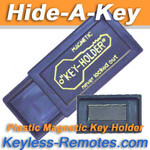 Plastic Hide-A-Key Magnetic Key-Holder Black