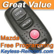Mazda Keyless Entry Remote 3 5 Protege Used