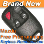 Mazda Keyless Entry Remote. RX-8 Early Production. New