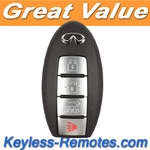 Infiniti Key Keyless Entry Remote / Smart Key G35 G37 Refurbished