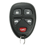 GM Keyless Remote 5 Button Dual Power Doors - GM3640_A