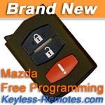 Mazda FlipKey Keyless Entry Remote.Mazda 5 CX-7 CX-9 MPV New
