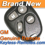 GM Keyless Entry Remote # 2 for Cadillac 4B Deville Seville Eldorado New