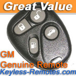 GM Keyless Entry Remote # 2 for Cadillac 4B Deville Seville Eldorado Refurbished