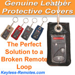 MEDIUM Genuine Leather Remote Cover