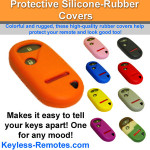 Honda Keyless Entry Remote Rubber Cover 3 Button
