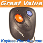 Subaru Keyless Entry Remote 2003-2006. Two Button Refurbished