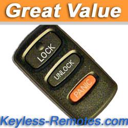 Mitsubishi Montero and Montero Sport Keyless Remote - MIT7210.1_B - Keyless-Remotes
