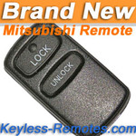 Mitsubishi Galant, Eclipse, Lancer, Outlander Remote (2 Button)