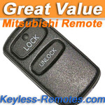 Mitsubishi Galant, Eclipse, Lancer, Outlander Remote (2 Button) - MIT7230_B