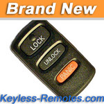 Mitsubishi Galant, Eclipse Remote (3 Button)