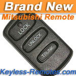Mitsubishi Diamante Remote (Panic on back)