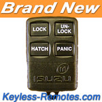 Isuzu Rodeo Keyless Entry Remote 4 Button