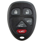 Keyless Entry Key Remote Fob for GM, Chevrolet, and GMC 15913418 with Rear Hatch & Power Liftgate Buttons