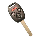 Keyless Entry Remote and Key fits Honda Accord 2003-2007