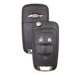 Chevrolet Flip Key Remote 3 Button