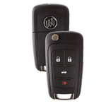 Buick PEPS Flip Key 4 Button