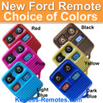 Ford 4-Button Remote in Color