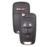 GMC Flip Key Remote 3 Button