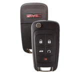 GMC Terrain Flip Key Remote 5 Button with Remote Start