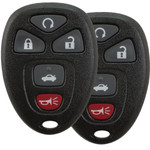 2 Chevrolet Buick GM Keyless Remotes with remote start