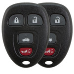 2X-Buick and Chevy Keyless Remote 4-button - GM3662_A_X2
