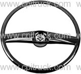 STEERING WHEEL BLACK CHEVROLET GMC TRUCK 1969 - 1972