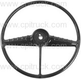 STEERING WHEEL BLACK CHEVROLET GMC TRUCK 1947 - 1953
