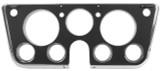 DASH BEZEL BLACK WITH CHROME TRIM CHEVROLET GMC TRUCK 1969 - 1972