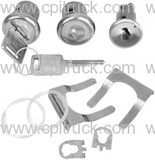 IGNITION LOCK AND DOOR LOCK KIT LATER CHEVROLET GMC TRUCK 1967 - 1972