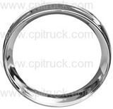 INSTRUMENT BEZEL CHROME CHEVROLET TRUCK 1954 - 1955