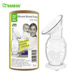 Haakaa Silicone Breast Pump with Suction Base 5 oz
