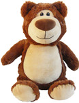 Cubbie Embroidered Brown Bear