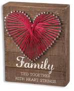 Family Wood Box Decor