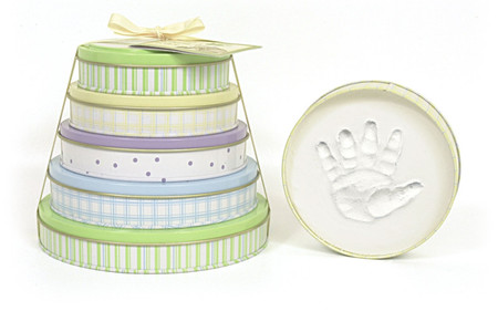 Tower of Time Handprint Molds