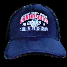 WHL CHAMPIONS ADJUSTABLE HAT NAVY