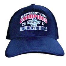 WHL CHAMPIONS FLEX FIT HAT NAVY