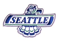 SEATTLE THUNDERBIRDS PATCH