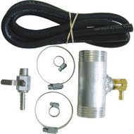 "2"" Auxiliary Diesel Tansfer Tank Adapter Tee Install Kit (1988-2010 GM)"