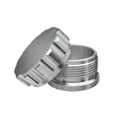 Aluminum billet weld on bung and oil water gasoline diesel filler cap