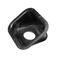 Square Plastic Fuel Filler Neck Protector / Dish / Bezel 42 Degree Housing (BEZ006) BEZ006 FRDF4TZ-9B213-A FRDF4TZ9B213A ford filler neck support bucket