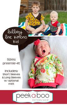 Lullaby Line Kimono Kid shirt pattern