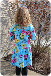 Pocketful of Posies dress and tunic pattern